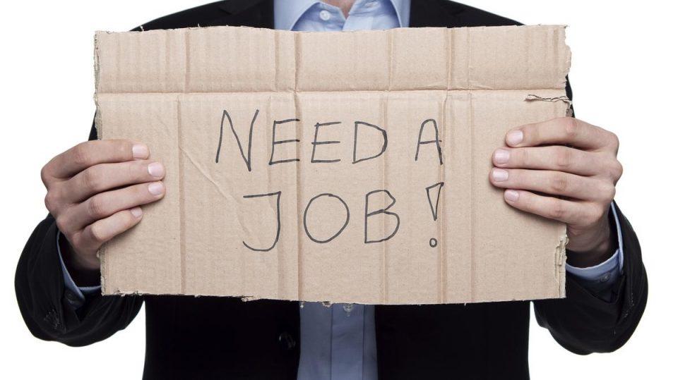 рост числа безработных