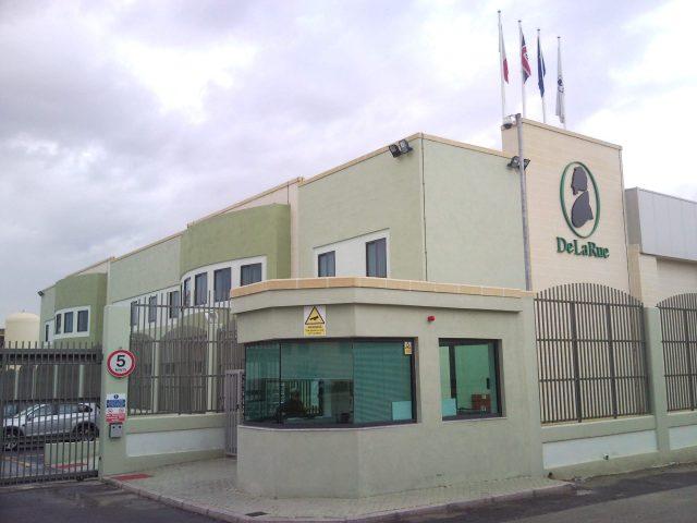 Компания DeLaRue