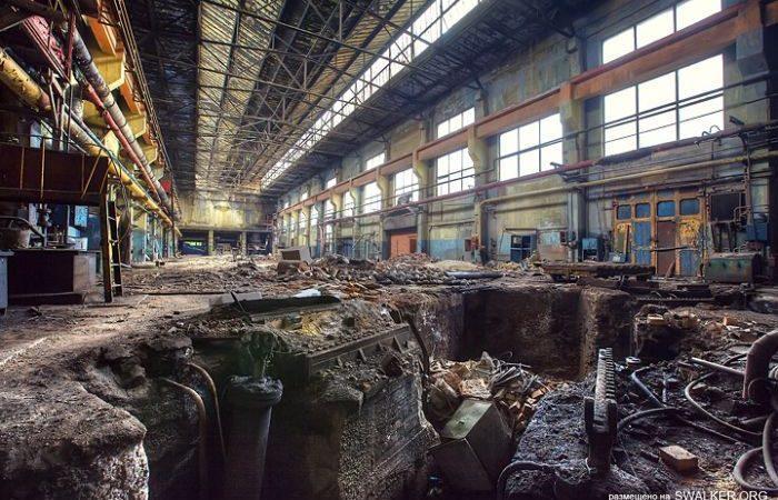 Обвал промышленности в России
