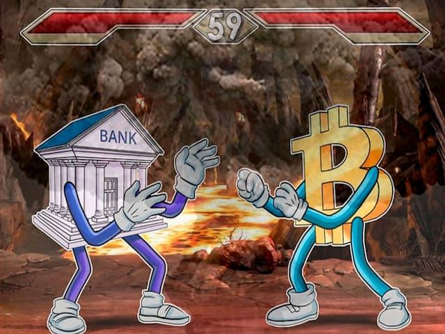 Банки против криптовалюты