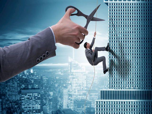 отрасли и районы с наибольшим риском закрытия бизнеса
