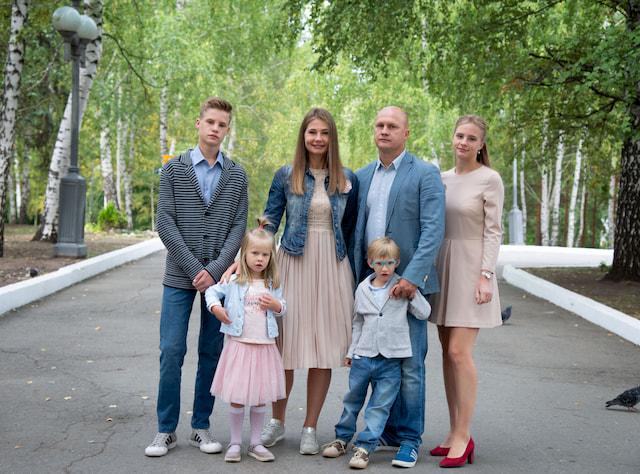 Семья Андрияновых